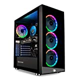 iBUYPOWER Gaming PC Computer Desktop Element MR 9320 (Intel i7-10700F 2.9GHz, NVIDIA GTX 1660 Ti 6GB, 16GB DDR4 RAM, 240GB SSD, 1TB HDD, Wi-Fi Ready, Windows 10 Home)