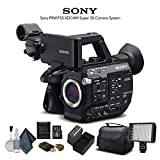 Sony PXW-FS5 XDCAM Super 35 Camera System (PXW-FS5) with Extra Battery, LED Light, Case and More. - Starter Bundle