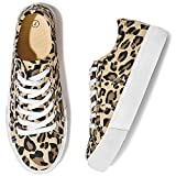 Adokoo Womens Platform Sneakers Leopard Shoes Cute Shoes