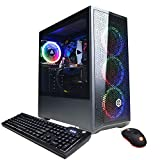 CyberpowerPC Gamer Xtreme VR Gaming PC, Intel i5-10400F 2.9GHz, GeForce GTX 1660 Super 6GB, 8GB DDR4, 500GB NVMe SSD, Wi-Fi Ready & Windows 10 Home (GXiVR8060A10)