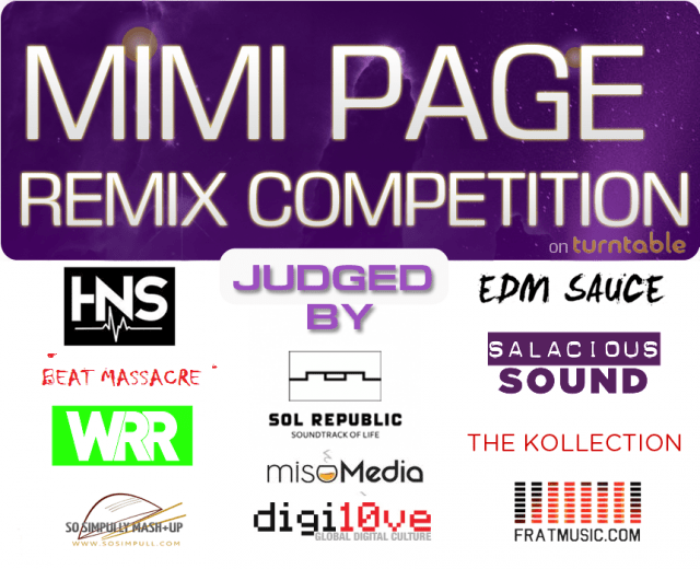 Mimi Page Remix Contest (Sponsored by Sol Republic + Miso Media)