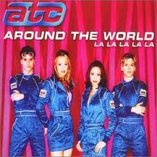 Throwback Thursday + ATC - All Around The World