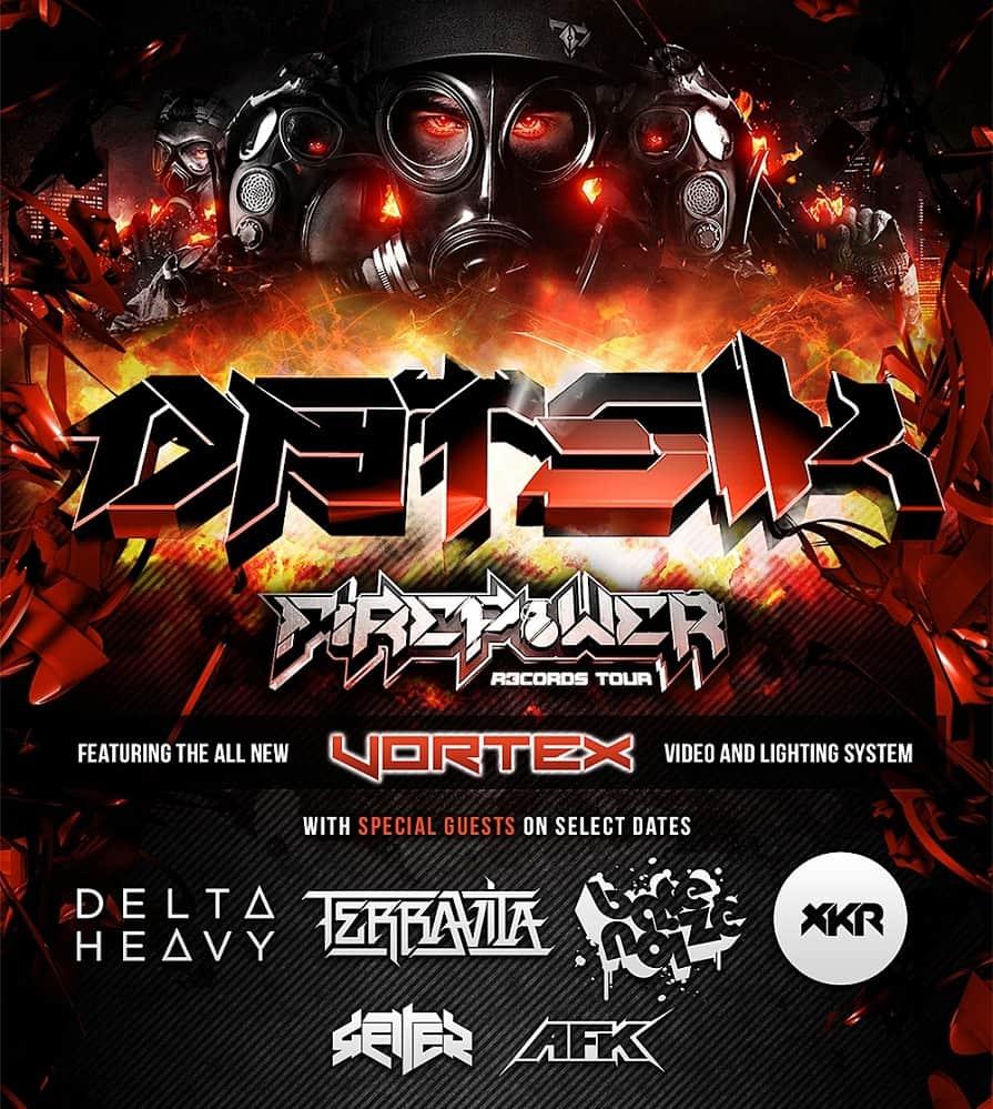 xKore Firepower Tour Dates Supporting Datsik