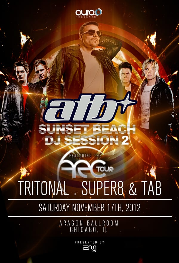 ATB + Tritonal In Chicago Giveaway Oppertunity