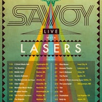 SAVOY with Three New Tracks