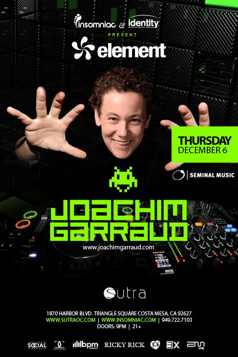 Joachim Garraud at Sutra OC