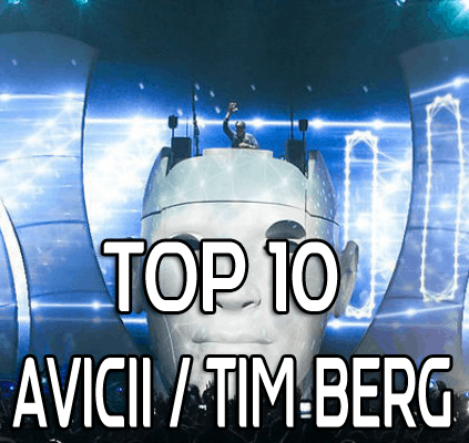 Top 10 Avicii Tim Berg Songs