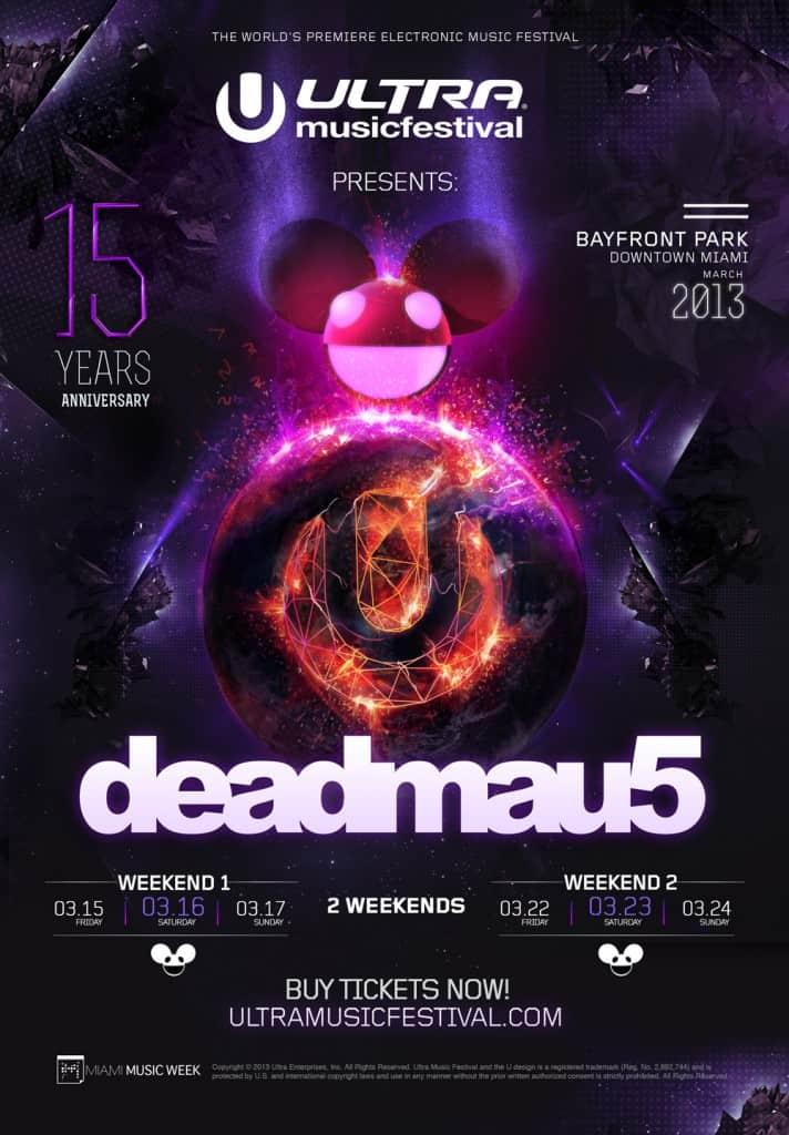 Ultra 2013 Deadmau5