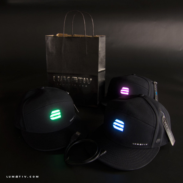 Kickstarter Project: Lumativ Snapback Hat