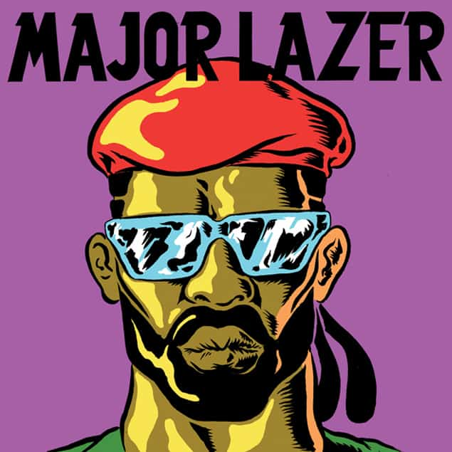 React Presents: Major Lazer at Congress Theater Chicago on March 2, 2013