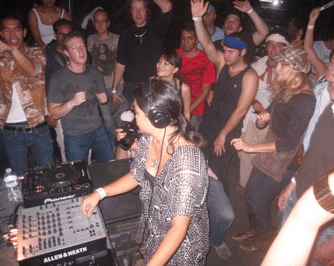 Mark Zuckerberg DJ