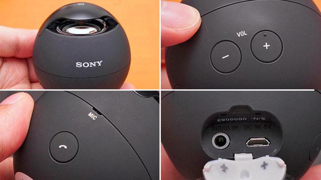 Sony Egg Speaker