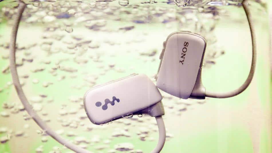 Sony's New Waterproof Walkman Lets Swimmers Listen to Music Underwater