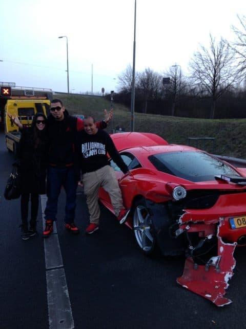 Afrojack Crashes His $200,000 Ferrari