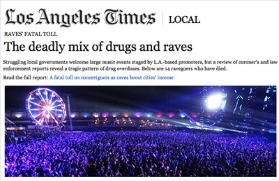 The LA Times in a Battle with the EDM Community After Recent Article