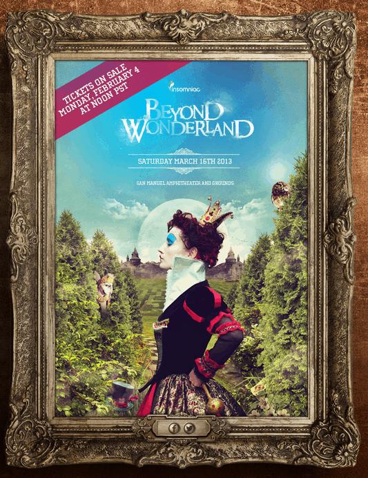 beyond wonderland 2013