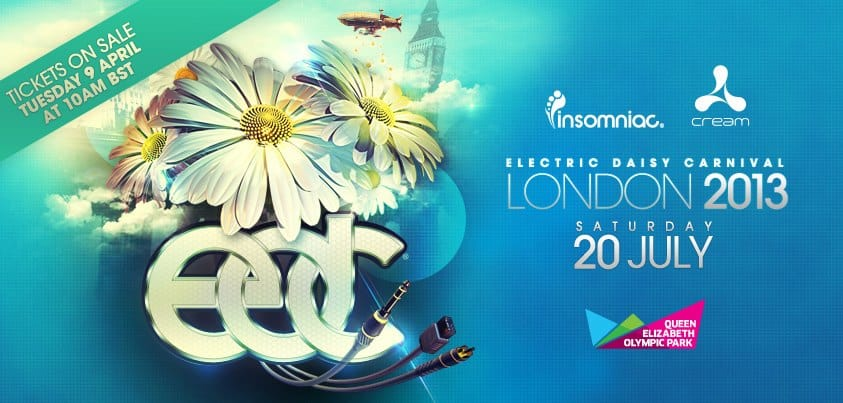 Insomniac Announces Electric Daisy Carnival London