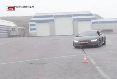 Watch Afrojack Drift His Audi R8