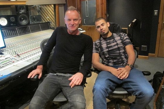 Afrojack and Sting Hint At Collaboration