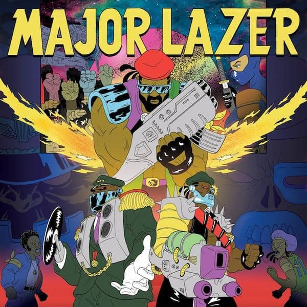 Major Lazer's Workout Mix on PotatoWillEatYou