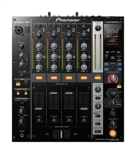 Pioneer Will Debut DJM-750 4-Channel Digital DJ Mixer in June