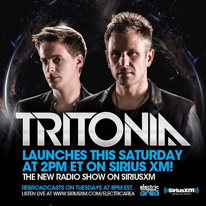 Sirius XM and Tritonal Announce New Show on Electric Area