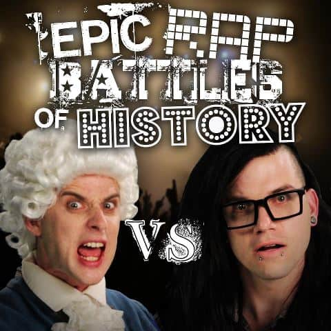 Skrillex Faces Off Against Mozart in Rap Battle