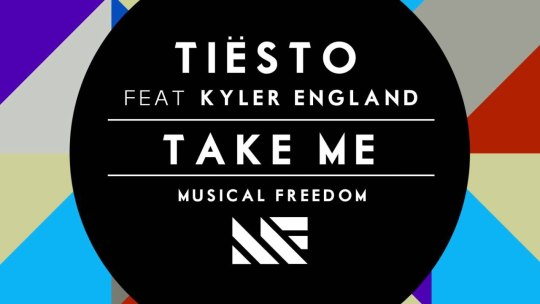 Tiesto ft. Kyler England - Take Me [Preview] (Available May 14)