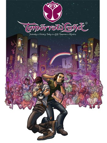 Tomorrowland Music Festival Is Getting It's Own Comic Book Series