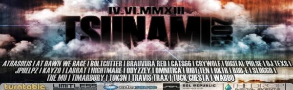 Turntable.fm Event - Tsunami 2013 [4/6/2013]
