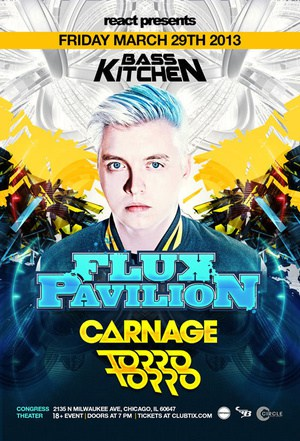 Flux Pavilion Carnage and Torro Torro at Congress Theater Review