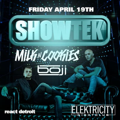 Win Tickets to See Showtek at Elektricity on April 19th