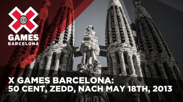 50 Cent Will Join Zedd at X Games in Barcelona
