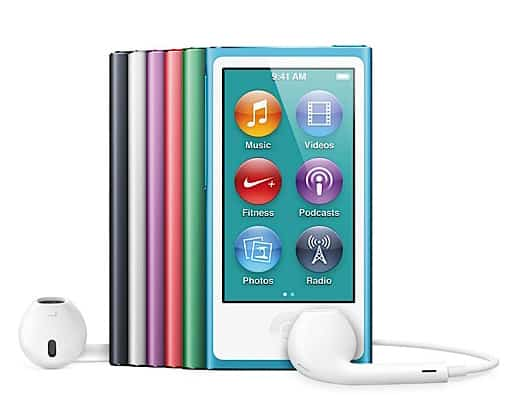 EDM Sauce Deal of the Day: 16GB iPod Nano Gen 7 [Refurb]