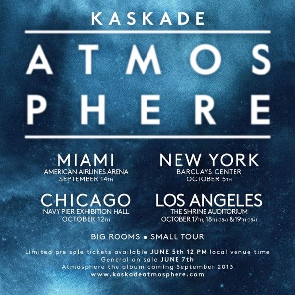 Kaskade Announces Atmosphere Tour To These 4 Arenas