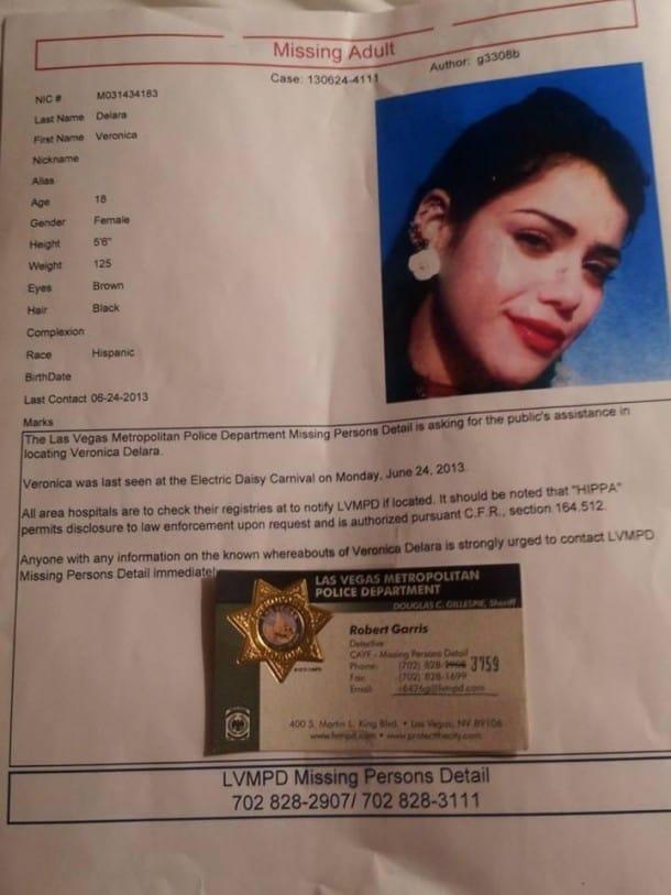 Girl Missing After Edc Las Vegas