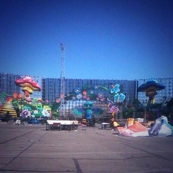 Leaked Pictures: Kinetic Field and Basscon Stages at EDC Las Vegas