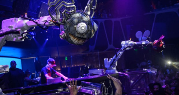 Deadmau5 Debuts Mau5bots At Hakkasan Las Vegas