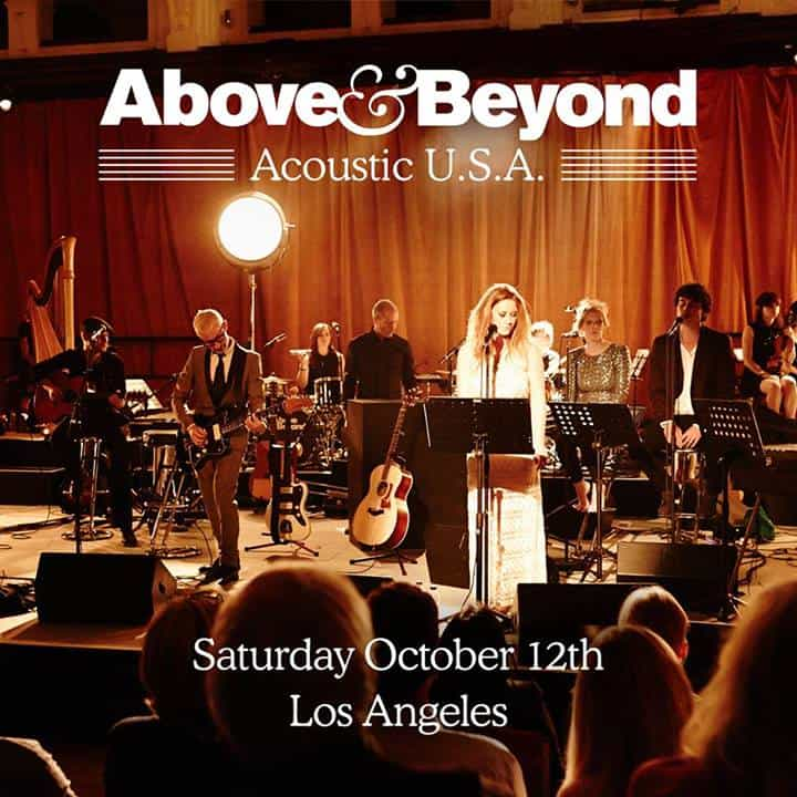 Above & Beyond Confirm Acoustic Tour U.S.