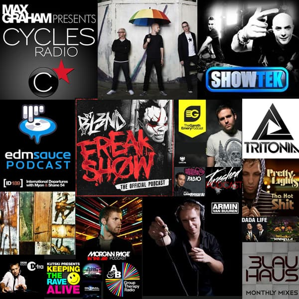 EDM Podcasts & Mixtapes Weekend Roundup