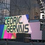 9 - Gervais Name LED closeup