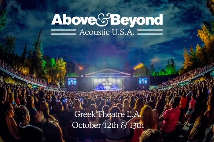 Above & Beyond Announce New Album & Acoustic USA Event