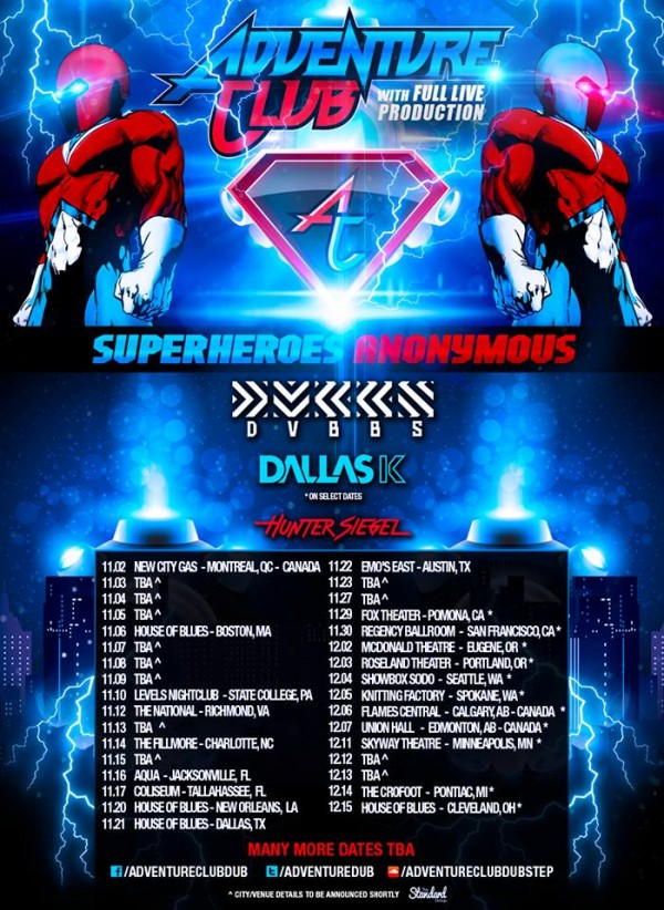 Adventure Club Reveals First Announcements Dates & Cities of Tour