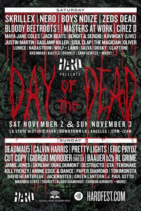 Day Of The Dead 2013 Annonces Lineup