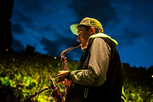 GRiZ Talks About His Love For 'Unprotected Sax'