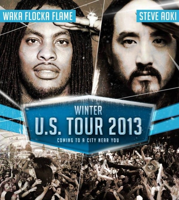 Steve Aoki and Waka Flocka Flame Announce US Tour