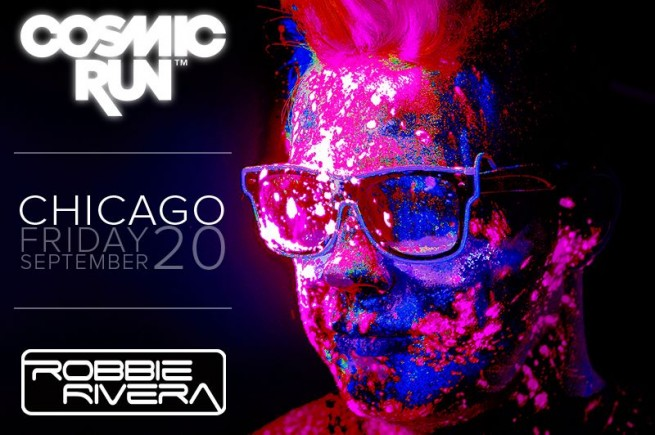 Cosmic Run Kicks Off Friday in Chicago With Robbie Rivera