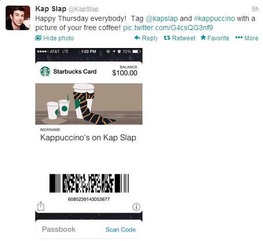 Kap Slap Starbucks