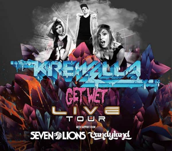 Krewella Announce Get Wet Tour With Seven Lions and Candyland