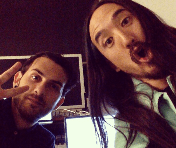 Steve Aoki Appears To Be Collaborating With Borgore
